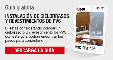 Guía Gratuita - Instalación de Cielorrasos y Revestimientos de PVC