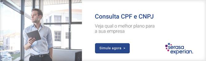 Consulta de CPF e CNPJ Serasa Experian