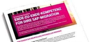 Entscheider-Checkliste SAP