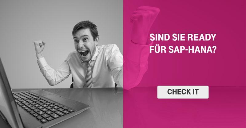 Sind Sie ready für SAP HANA?