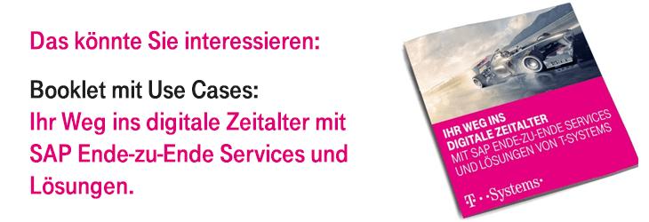 Booklet: Ihr Weg ins digitale Zeitalter - SAP Ende-zu-Ende Services und Lösungen