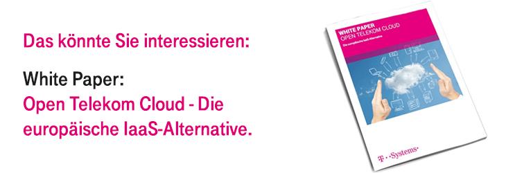 Holen Sie sich unser White Paper zur Open Telekom Cloud