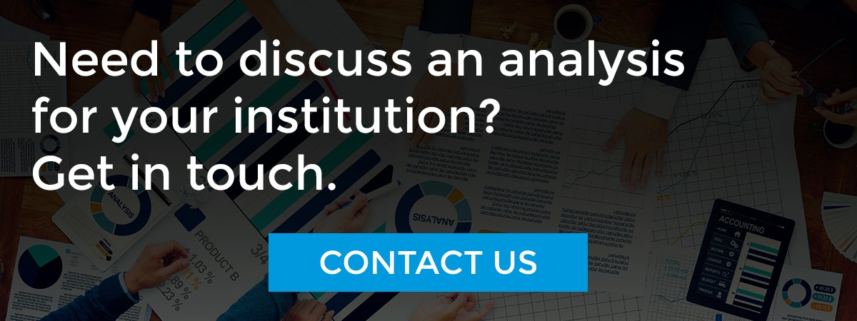 Need to discuss an analysis for your institution? Contact us.