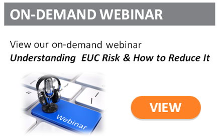 Understanding EUC Risk on-demand webinar