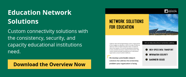 Improve the network connection of your classroom.