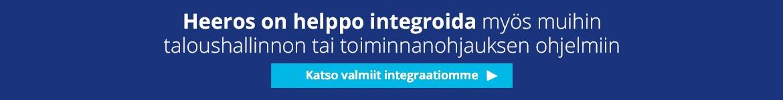 Taloushallinnon integraatiot