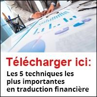 Les 5 techniques les plus importantes en traduction financière