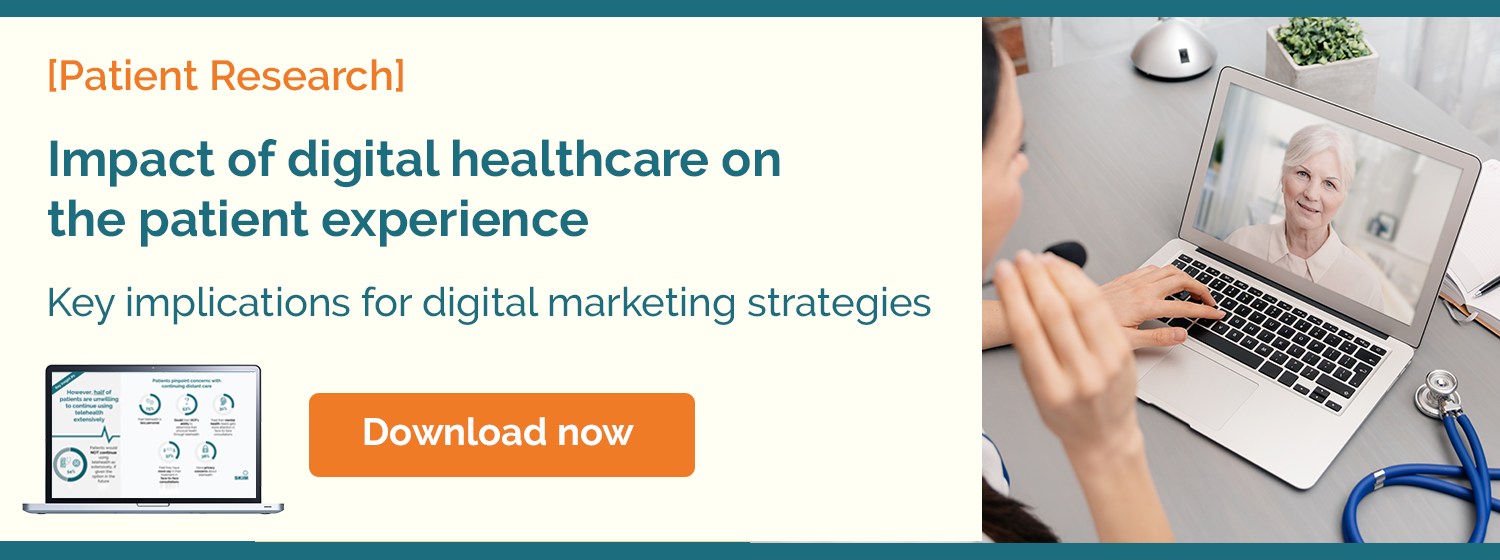 Impact of digital healthcare on the patience experience
