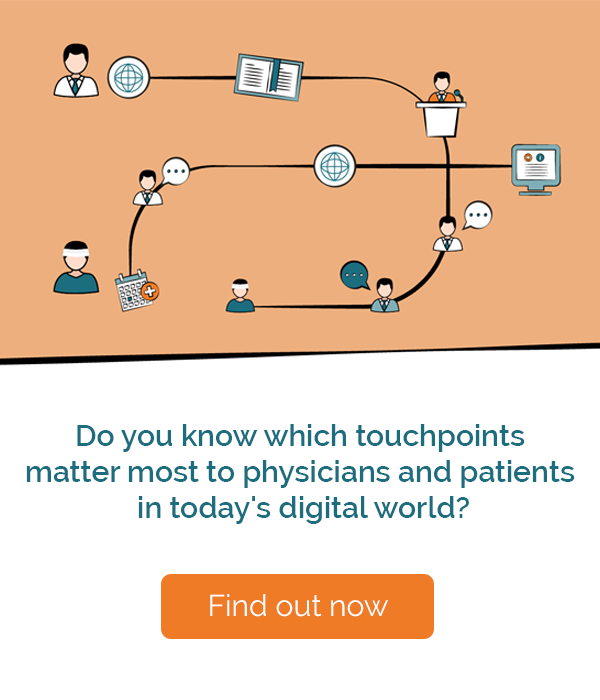do you know which touchpoints matter most to physicians and patients in today's digital world