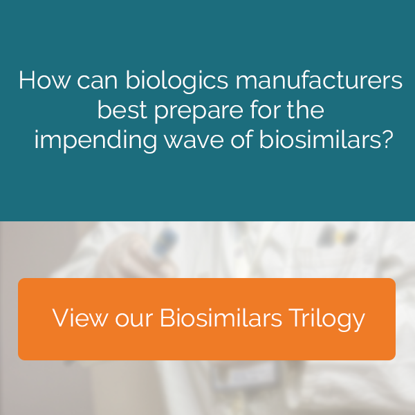 How can biologics manufacturers  best prepare for the  impending wave of biosimilars?