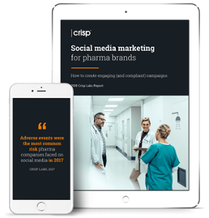 Download Crisp's Social Media Marketing for Pharma Brands report