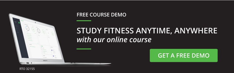 Study Fitness anytime, anywhere with our online course. Get a free demo.