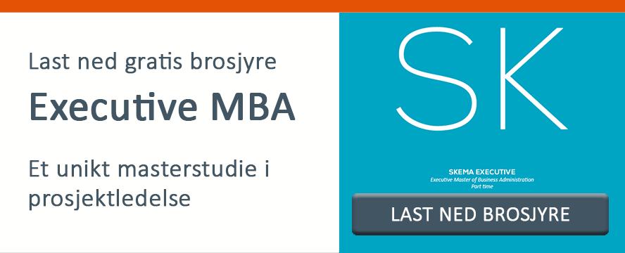 Last ned brosjyre for Executive MBA i prosjektledelse