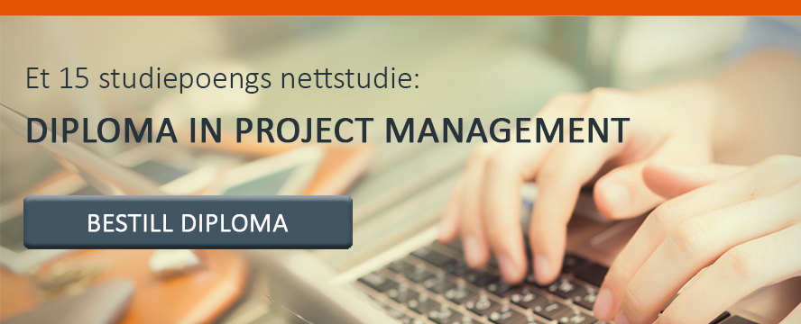 15 studiepoengs nettstudie: Bestill Diploma in Project Management