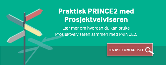 Les mer om kurset Praktisk PRINCE2 med prosjektveiviseren her
