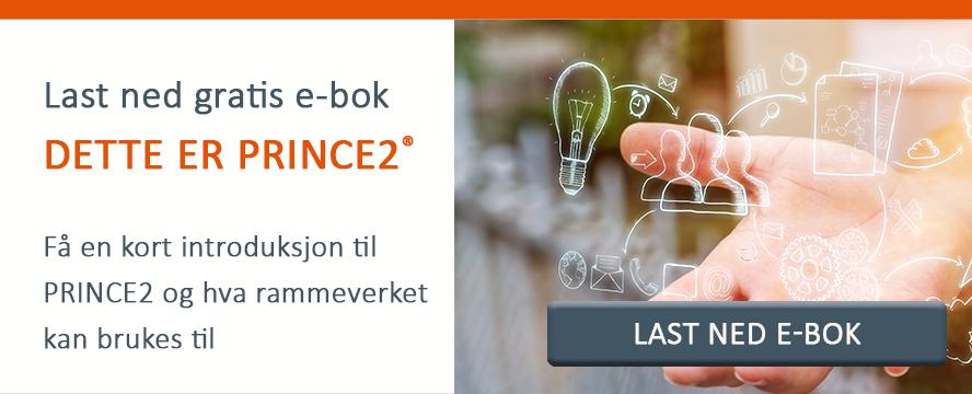Last ned gratis e-bok: Dette er PRINCE2
