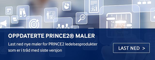 Last ned oppdaterte PRINCE2 maler her