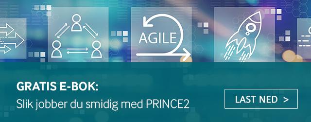 Last ned gratis e-bok om PRINCE2 Agile