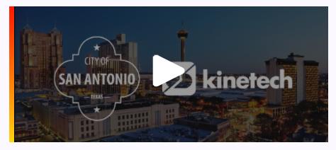 Kinetech - Mendix World 2020 Talk w/ City of San Antonio