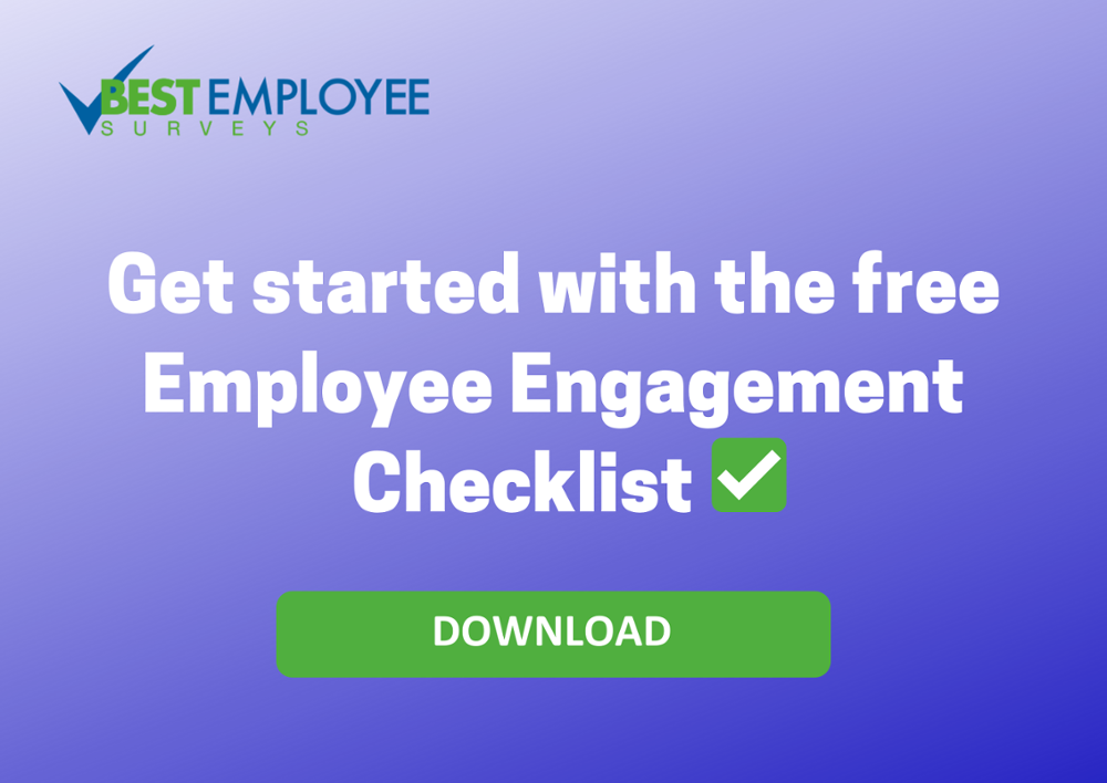 Free Employee Engagement Checklist