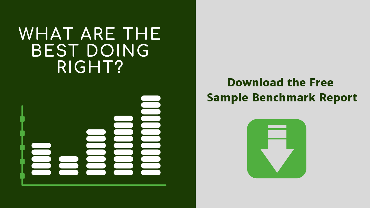 Download a free sample employee engagement Benchmark Report