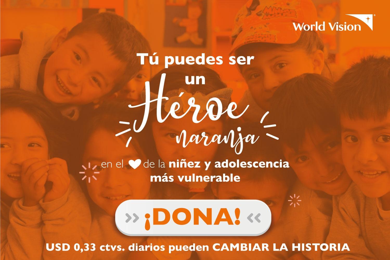 Donaciones World Vision Ecuador