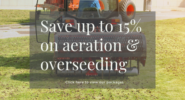 Aeration and overseeding