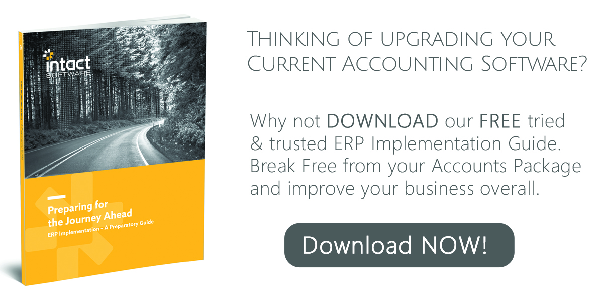 Accounts package upgrade to ERP