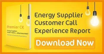 Energy Supplier Customer Call Experience Report