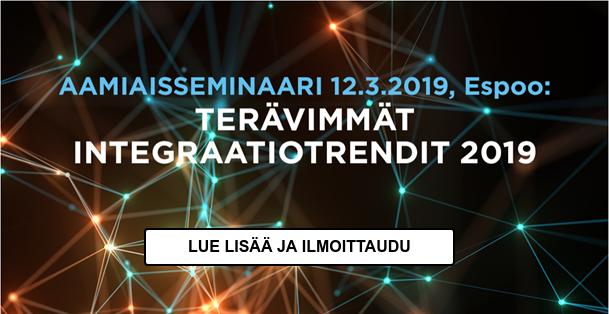Ilmoittaudu integraatiotrendit 2019 seminaariin
