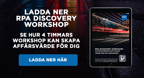 Ladda ner guiden om RPA Discovery workshop