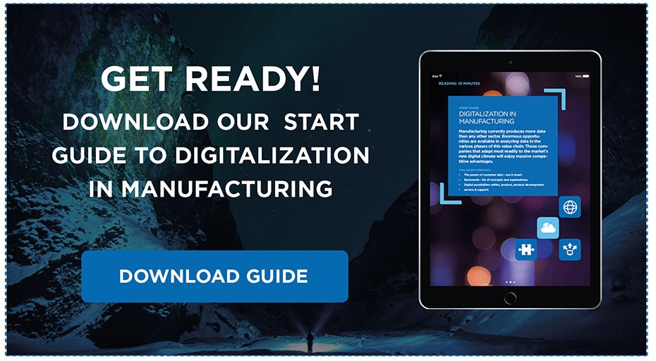 Download Our Start Guide to Digitalization In Manufacturing.