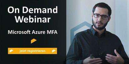 Registration On Demand Webinar Microsoft Azure MFA