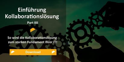 Einführungs Kollaborationslösung Part IIII