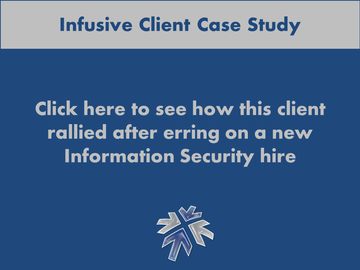 New York City technical staffing services provider Infusive Solutions explains assisting a client who chose a poor new hire.