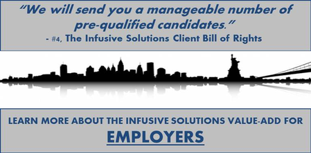 New York City IT staffing firm Infusive Solutions for employers.