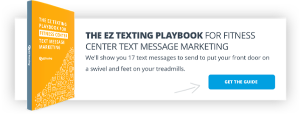 EZ Texting Playbook for Fitness Center Text Message Marketing