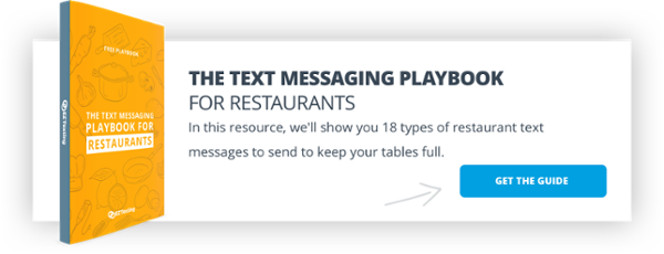 The Text Marketing Playbook for Restaurants