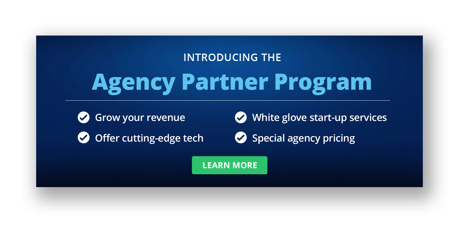 Agency Partner Program