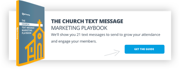 Church Text Message Marketing Playbook