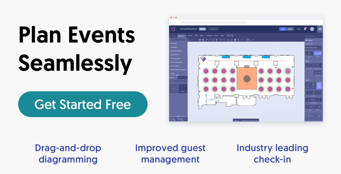 Find venues, manage events and win clients with  free event planning tools.