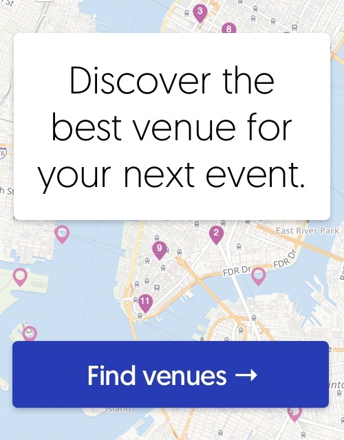 Discover the best venue for your next event.