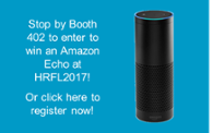 Win an Amazon Echo at HRFL 2017!