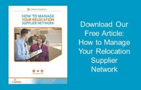 How to Manage Your Relocation Supplier Network
