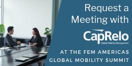 Request a meeting with CapRelo at FEM Americas
