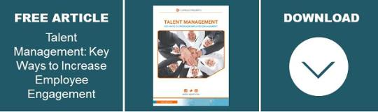 Talent Management: Engagement Article