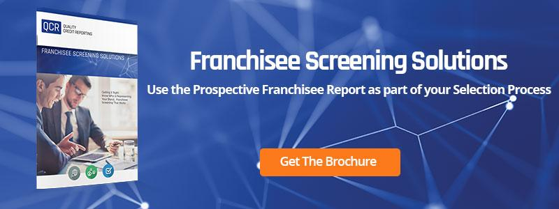 Franchisee Screening Solutions Report