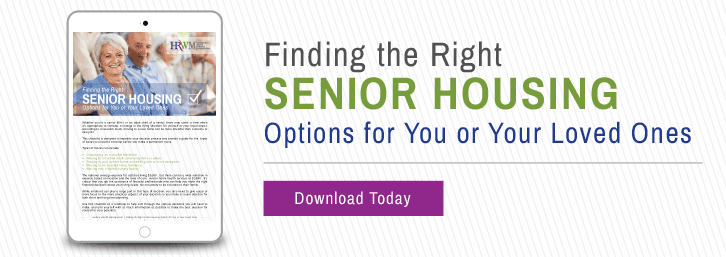 Finding the Right Senior Housing Options for You or Your Loved Ones- Horizon Ridge Wealth Management