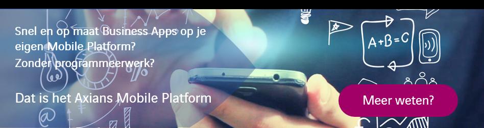 Meer weten over Axians Mobile Platform & Apps? Klik hier!