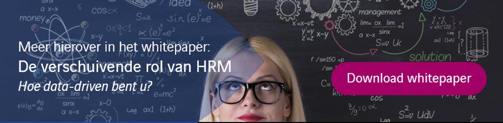 Verschuivende rol van HRM
